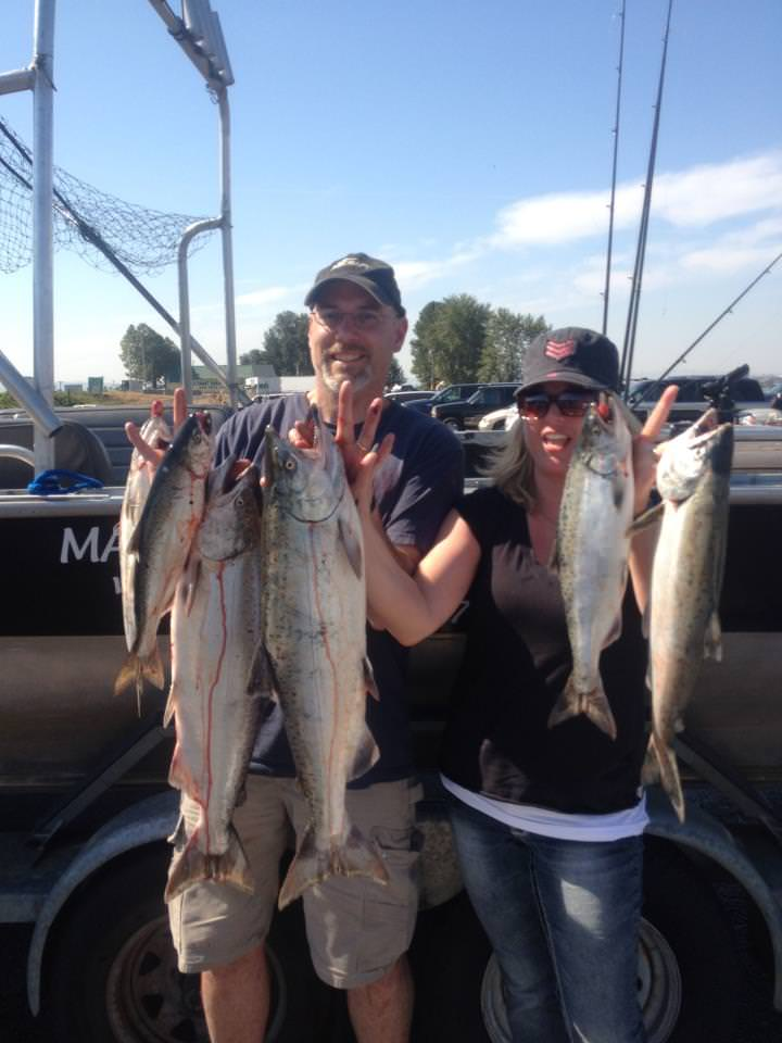 Salmon or wa fishing guide marvin henkel for Tillamook bay fishing