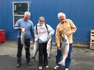 Oregon salmon fishing guides