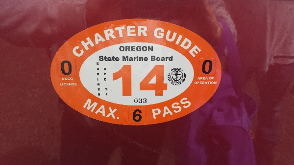 Marvins charter guide license