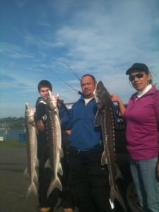 clients holding a limit of Sturgeon.