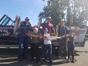 Salmon Fishing in Oregon & Washington with Marvin Henkel