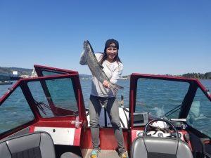 Salmon fishing portland oregon